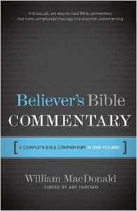 Believer's Bible Commentary - Macdonald
